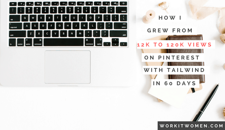 How I Grew From 12k to 120K Views on Pinterest in less than 60 Days!
