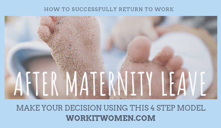 Successfully return to work after maternity work by work it women Featured Image
