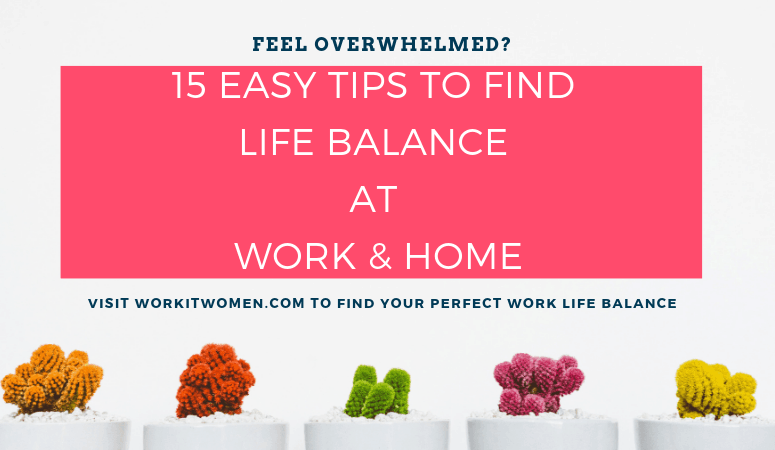 Social media 15 easy tips to find life balance at work and home