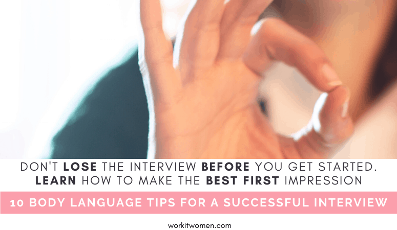 10 easy to learn how to use your body language by work it women