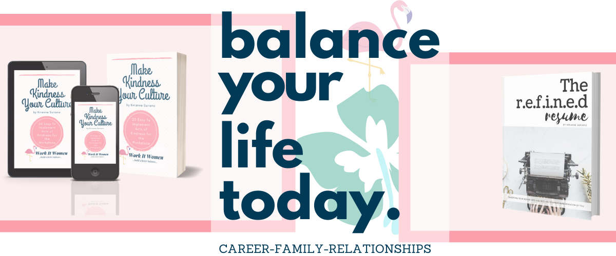balance your life today with work it women in career family and relationships